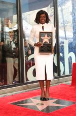 VIOLA DAVIS Recieves Her Star on the Hollywood Walk of Fame 01/05/2017
