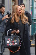 WENDY WILLIAMS at Joe & the Juice in New York 01/11/2017