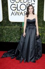 WINONA RYDER at 74th Annual Golden Globe Awards in Beverly Hills 01/08/2017