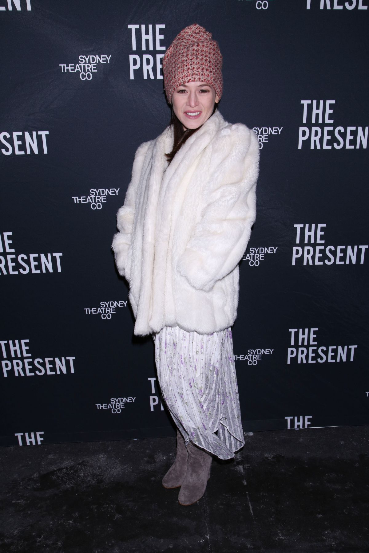 YAEL STONE at The Present Opening Night Party in New York 01/08/2017