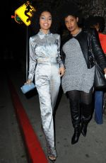YARAH SHAHIDI at Chateau Marmont in West Hollywood 01/28/2017