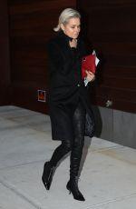 YOLANDA HADID Night Out in New York 01/13/2017