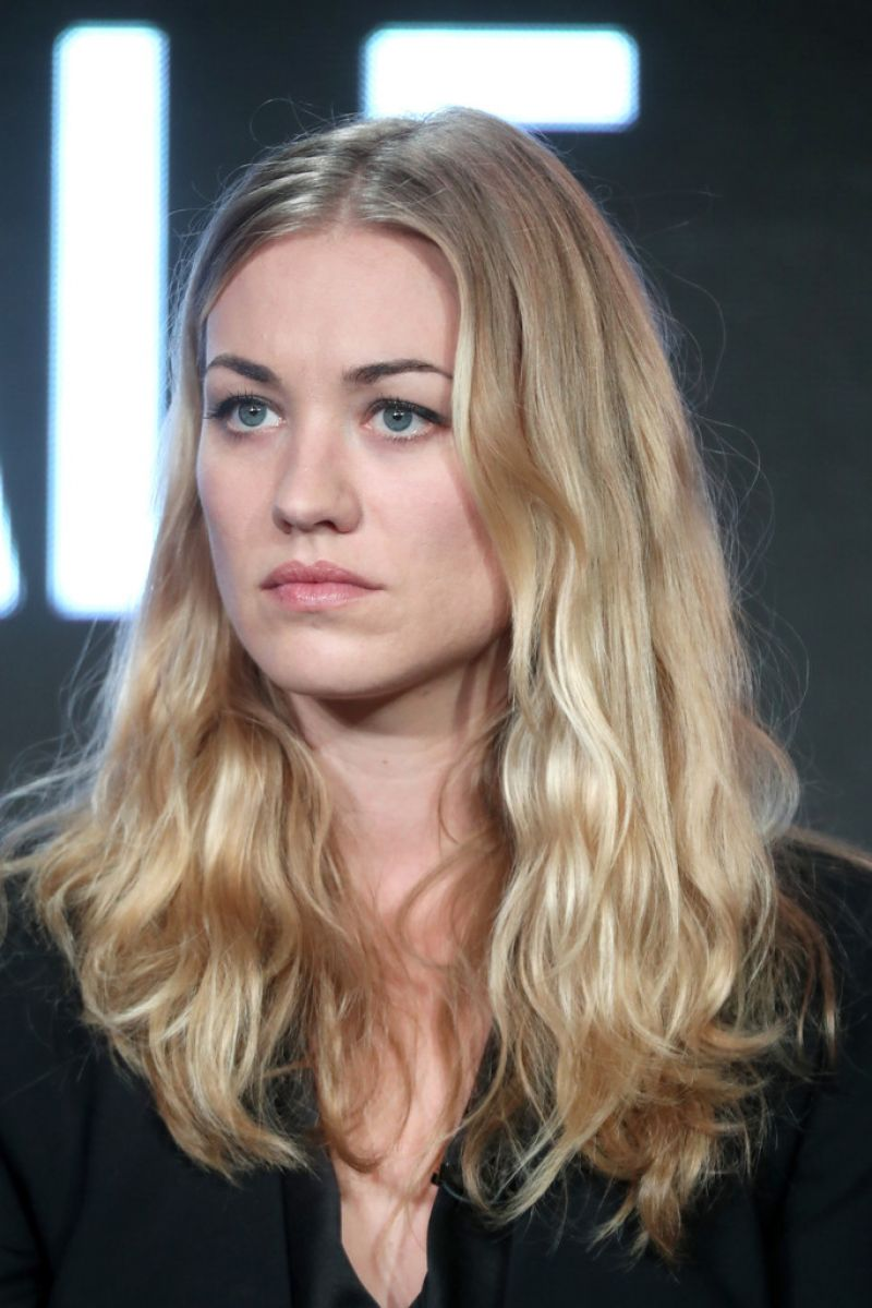 YVONNE STRAHOVSKI at Hulu's Winter TCA 2017 in Los Angeles 01/07/2017