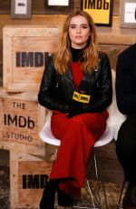 ZOEY DEUTCH at IMDB Studio at 2017 Sundance Film Fesrival 01/23/2017