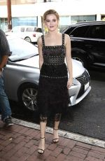 ZOEY DEUTCH at W's IT Girl Luncheon in Los Angeles 01/07/2017