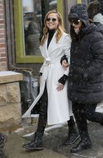 ZOEY DEUTCH Out and About in Park City 01/20/2017