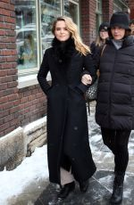 ZOEY DEUTCH Out and About in Park CIty 01/24/2017