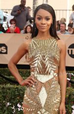 ZURI HALL at 23rd Annual Screen Actors Guild Awards in Los Angeles 01/29/2017