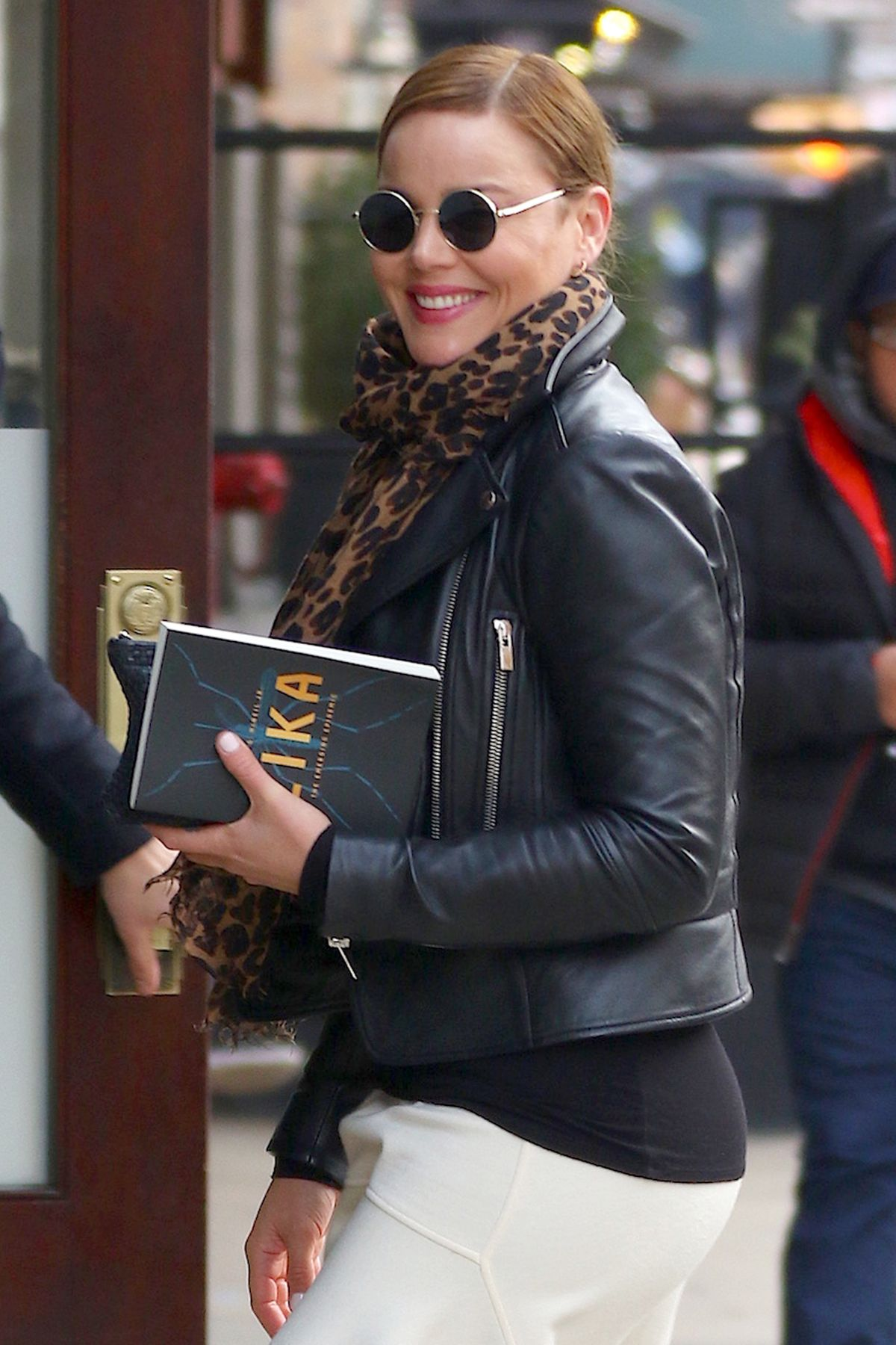 ABBIE CORNISH Arrives at Her Hotel in New York 02/03/2017