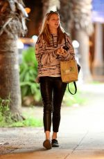 ABBY CHANPION Out and About in Santa Monica 01/31/2017