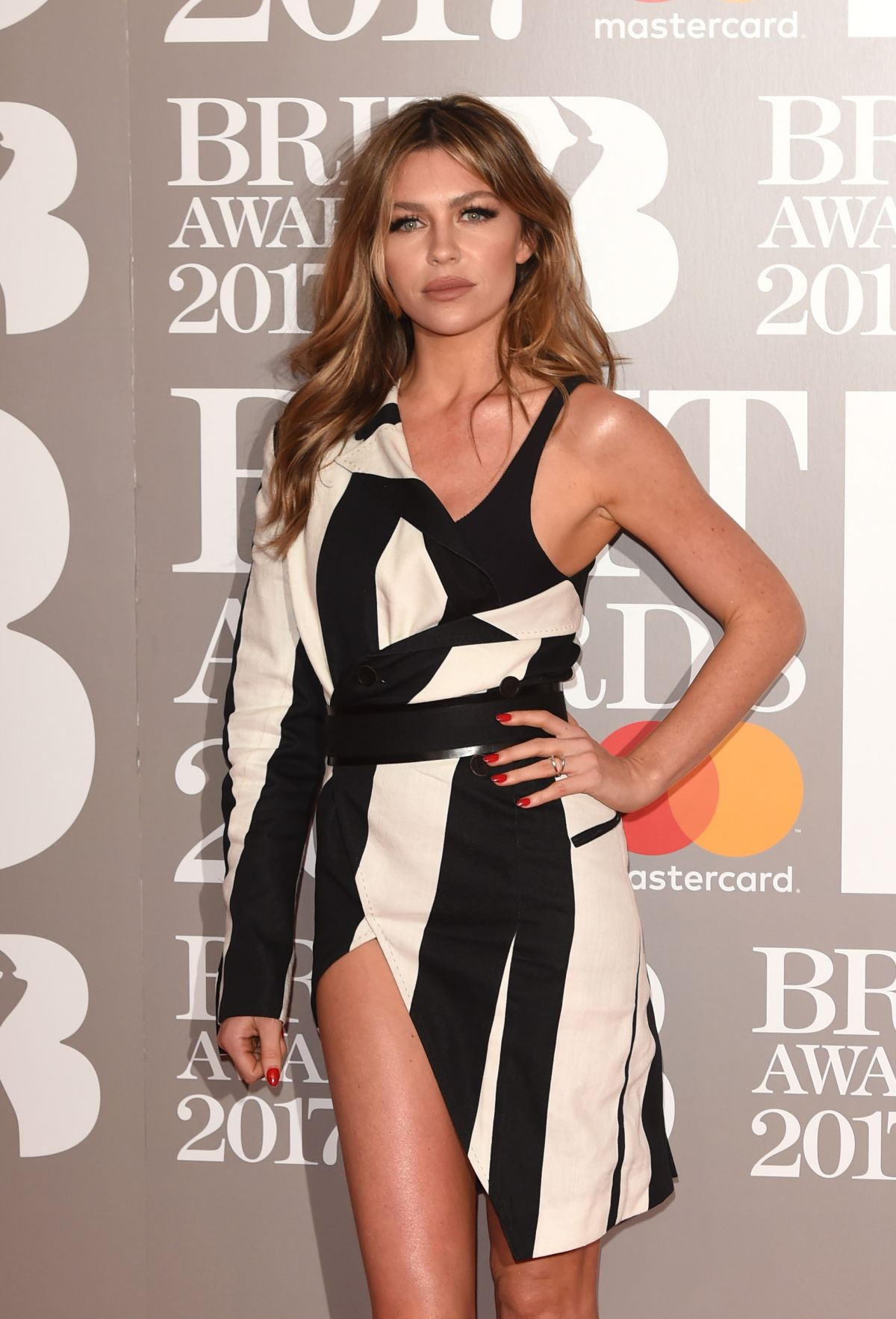 ABIGAIL ABBEY CLANCY at Brit Awards 2017 in London 02/22/2017