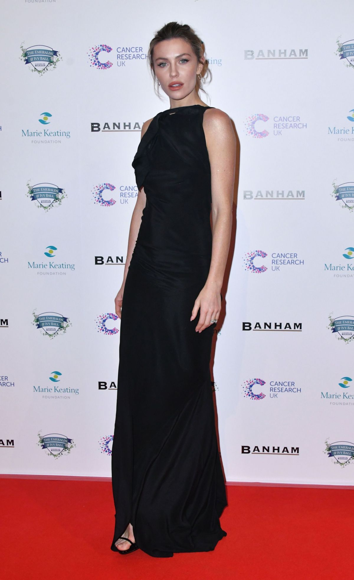 ABIGAIL ABBEY CLANCY at Emeralds and Ivy Ball in London 02/25/2017