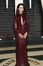 ABIGAIL SPENCER at 2017 Vanity Fair Oscar Party in Beverly Hills 02/26/2017