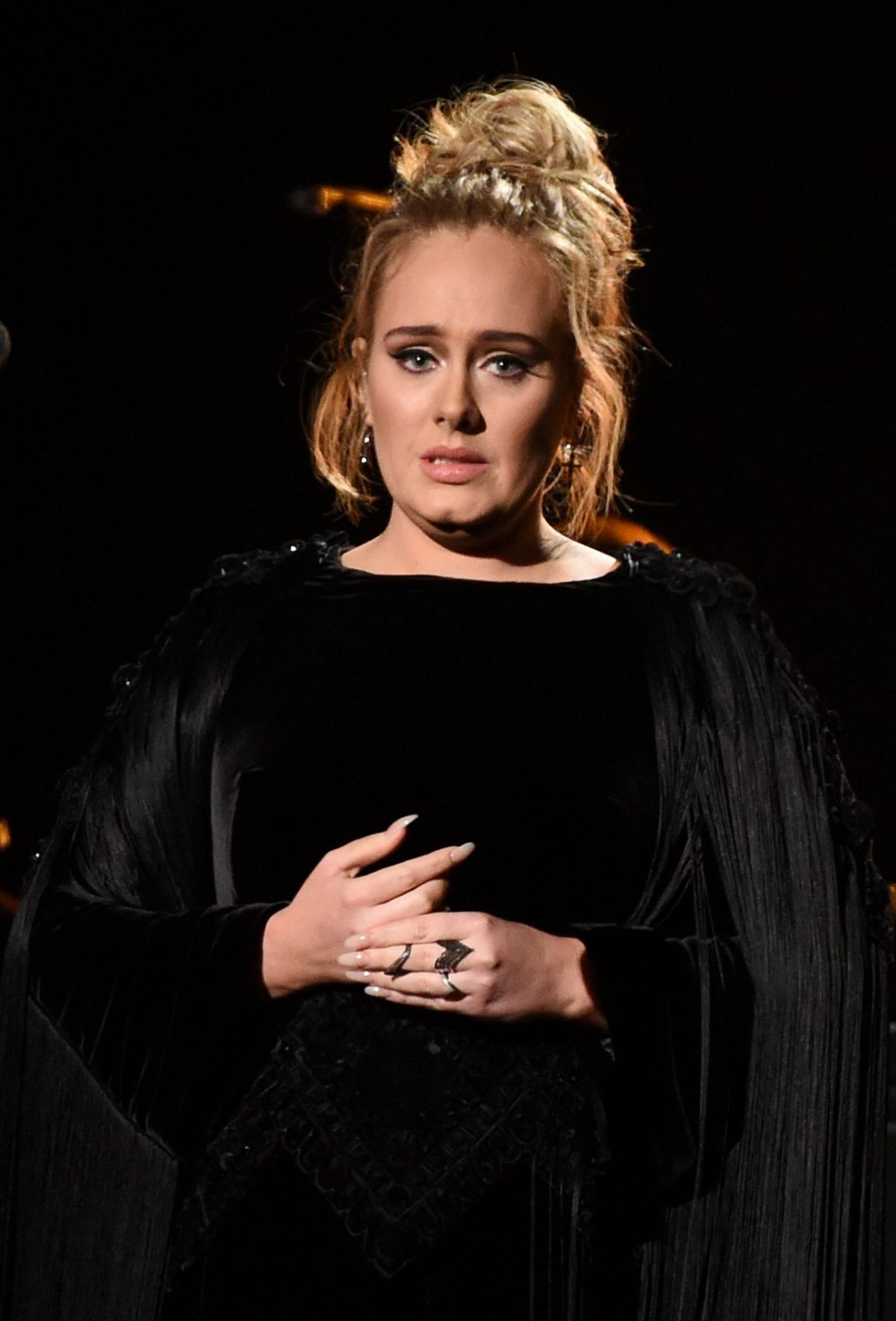 ADELE Performs at 2017 Grammy Awards in Los Angeles 02/12/2017