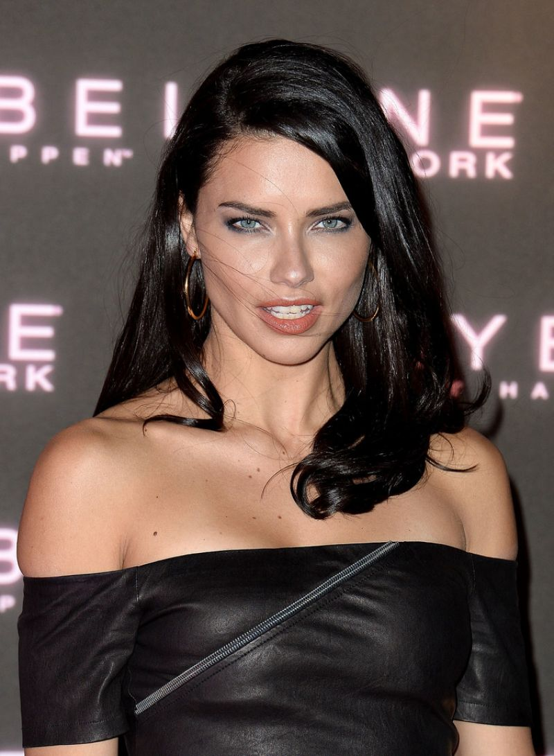 adriana lima at maybelline s bring on the night party in