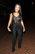 AIMEE KIMBER Night Out in Chelmsford 02/04/2017