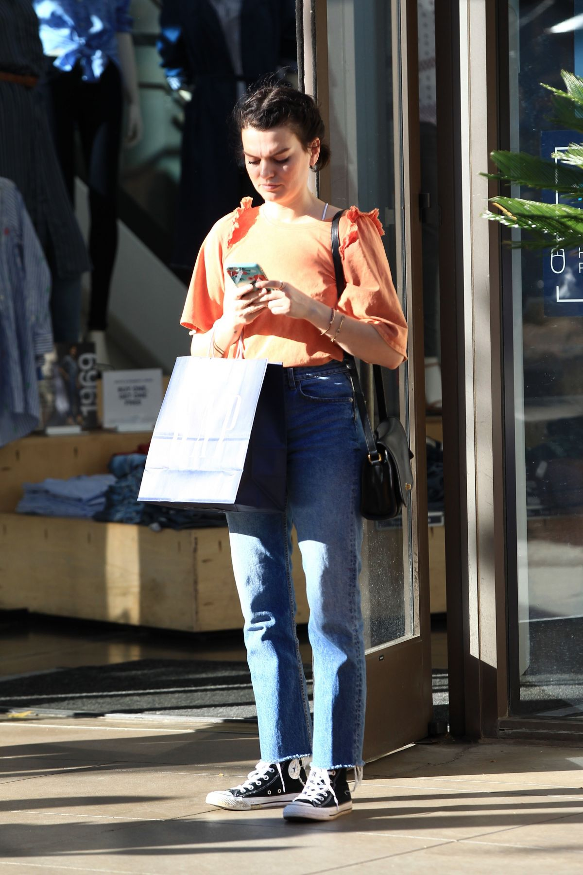 ALESSANDRA TORRESANI Out in West Hollywood 02/04/2017