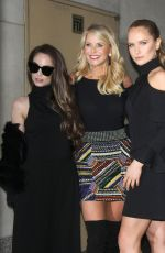 ALEXA RAY JOEL (BRINKLEY) and SAILOR BRINKLEY at Today Show in New York 02/15/2017