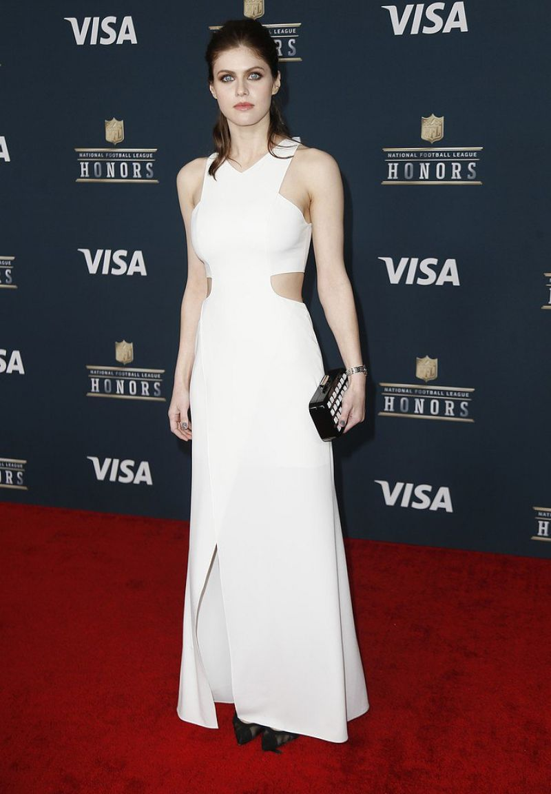 ALEXANDRA DADDARIO at 6th Annual NFL Honors in Houston 02/04/2017
