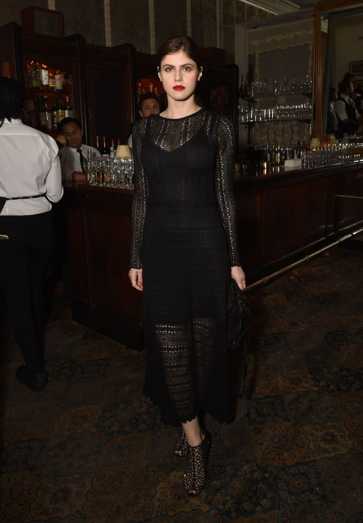ALEXANDRA DADDARIO at GQ and Chance the Rapper Celebrate Grammys in Partnership with Youtube 02/12/2017