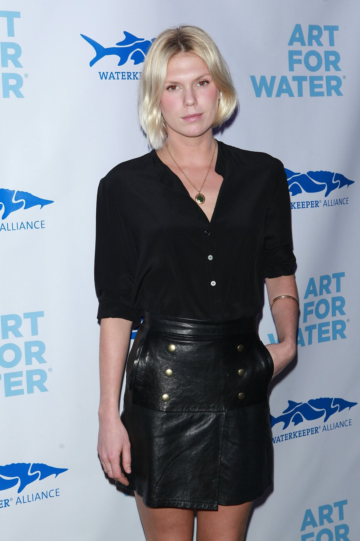 ALEXANDRA RICHARDS at Art for Water Benefiring Waterkeeper Alliance Charity in New York 02/06/2017