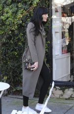 ALI LOHAN Out and About in Los Angeles 02/22/2017