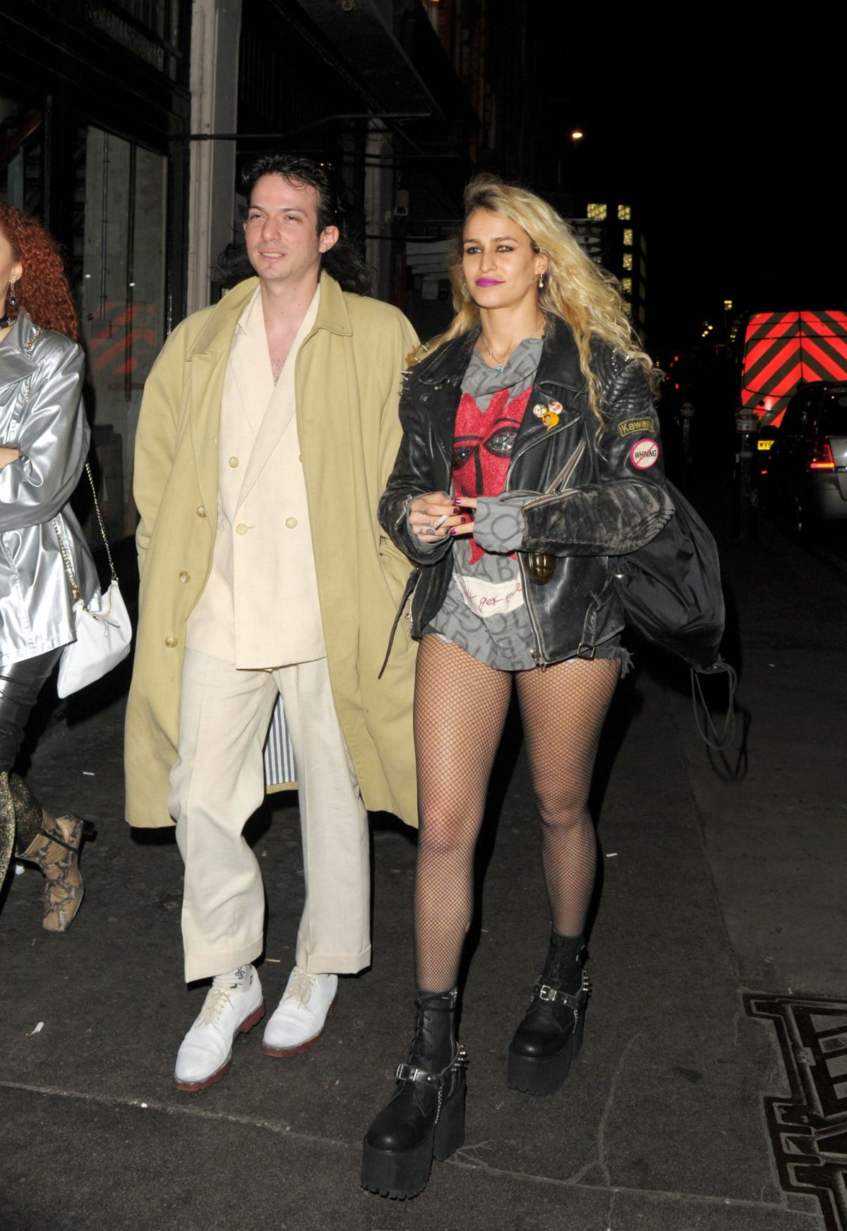 ALICE DELLAL Night Out in London 02/20/2017