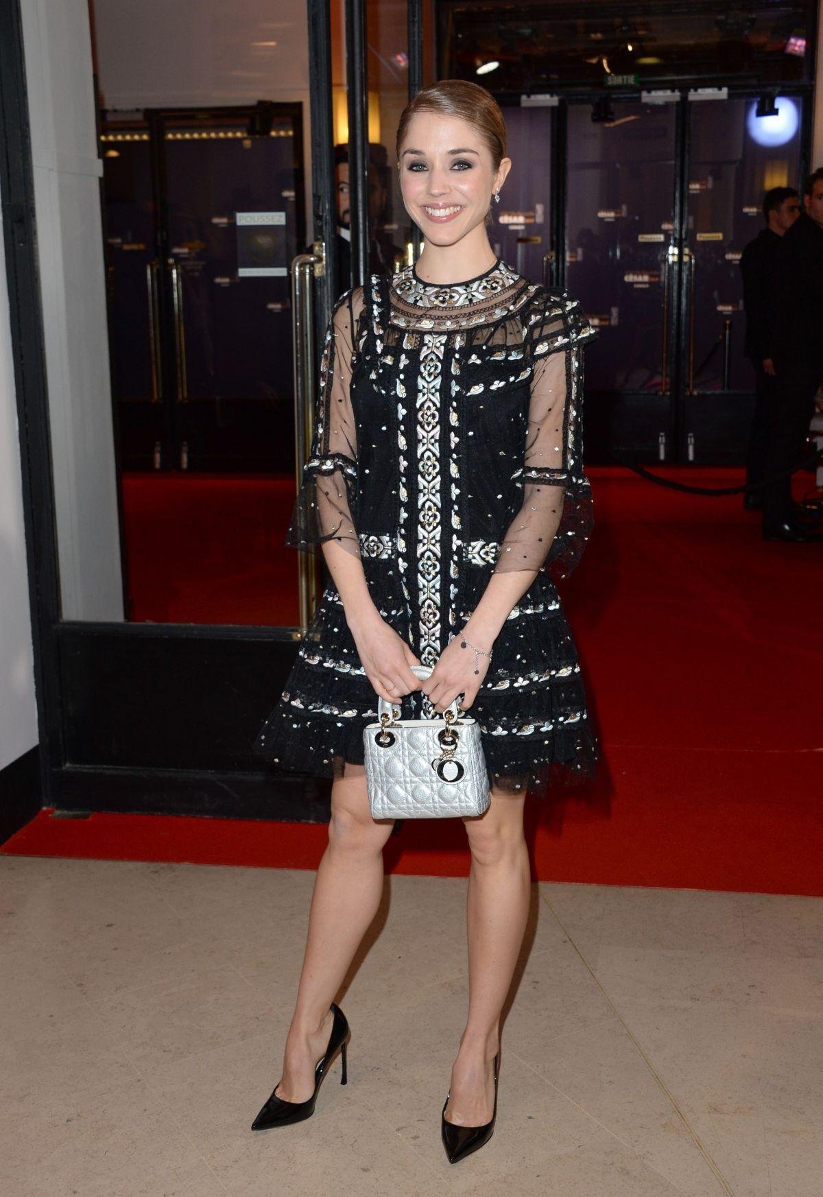 ALICE ISAAZ at Cesar Film Awards in Paris 02/24/2017
