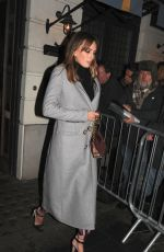 ALICE MANNERS Arrives at Harvey Weinstein Pre Baftas Dinner in London 02/10/2017