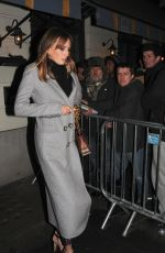 ALICE MANNERS Arrives at Harvey Weinstein Pre Baftas Dinner in London 02/10/2017