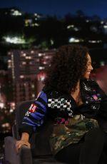 ALICIA KEYS at Jimmy Kimmel Live 02/09/2017