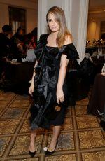 ALICIA SILVERSTONE at Christian Siriano Fashion Show in New York 02/11/2017