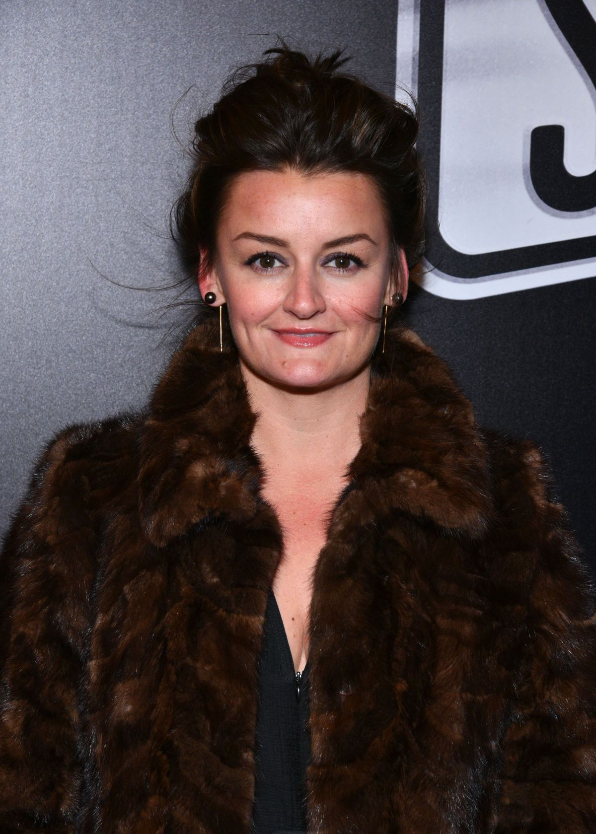 ALISON WRIGHT at SUNSET BLVD Play Openning Night in New York 02/09/2017