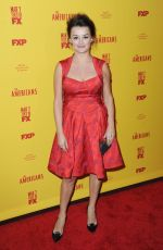 ALISON WRIGHT at The Americans Season 5 Premiere in New York 02/25/2017
