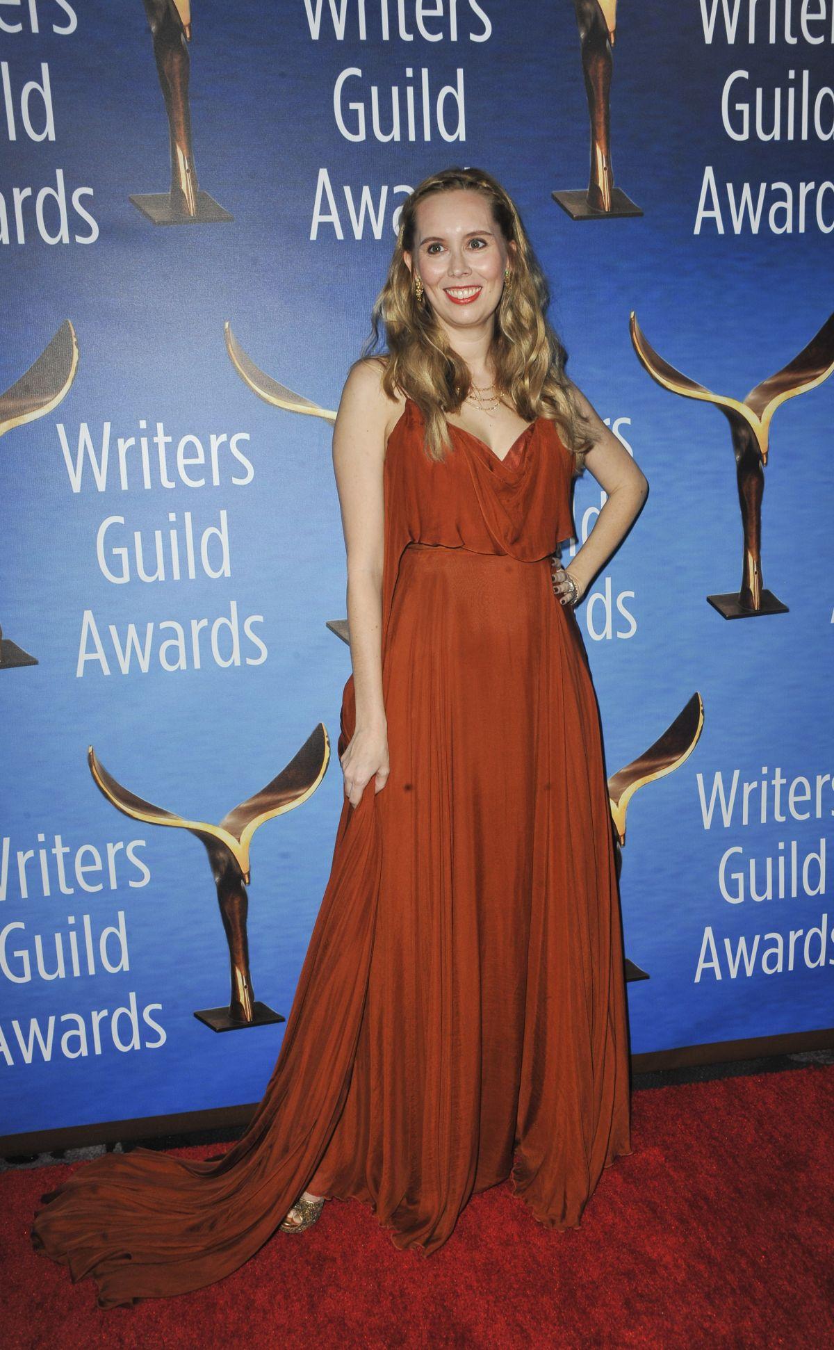 ALLISON SCHROEDER at 2017 Writers Guild Awards in Beverly Hills 02/19/2017