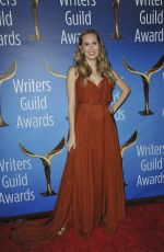 ALLISON SCHROEDER at 2017 Writers Guild Awards in Beverly Hills 02/19/2017