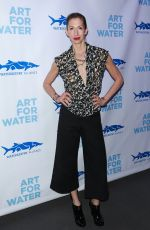 ALYSIA REINER at Art for Water Benefiring Waterkeeper Alliance Charity in New York 02/06/2017