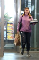 ALYSON HANNIGAN Buys a Cake Out in Los Angeles 02/24/2017