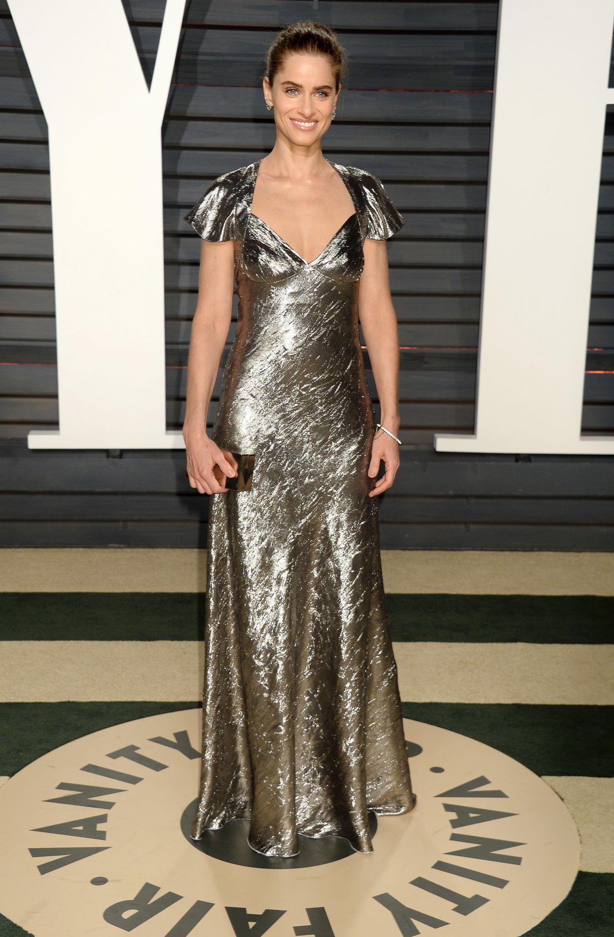 AMANDA PEET at 2017 Vanity Fair Oscar Party in Beverly Hills 02/26/2017