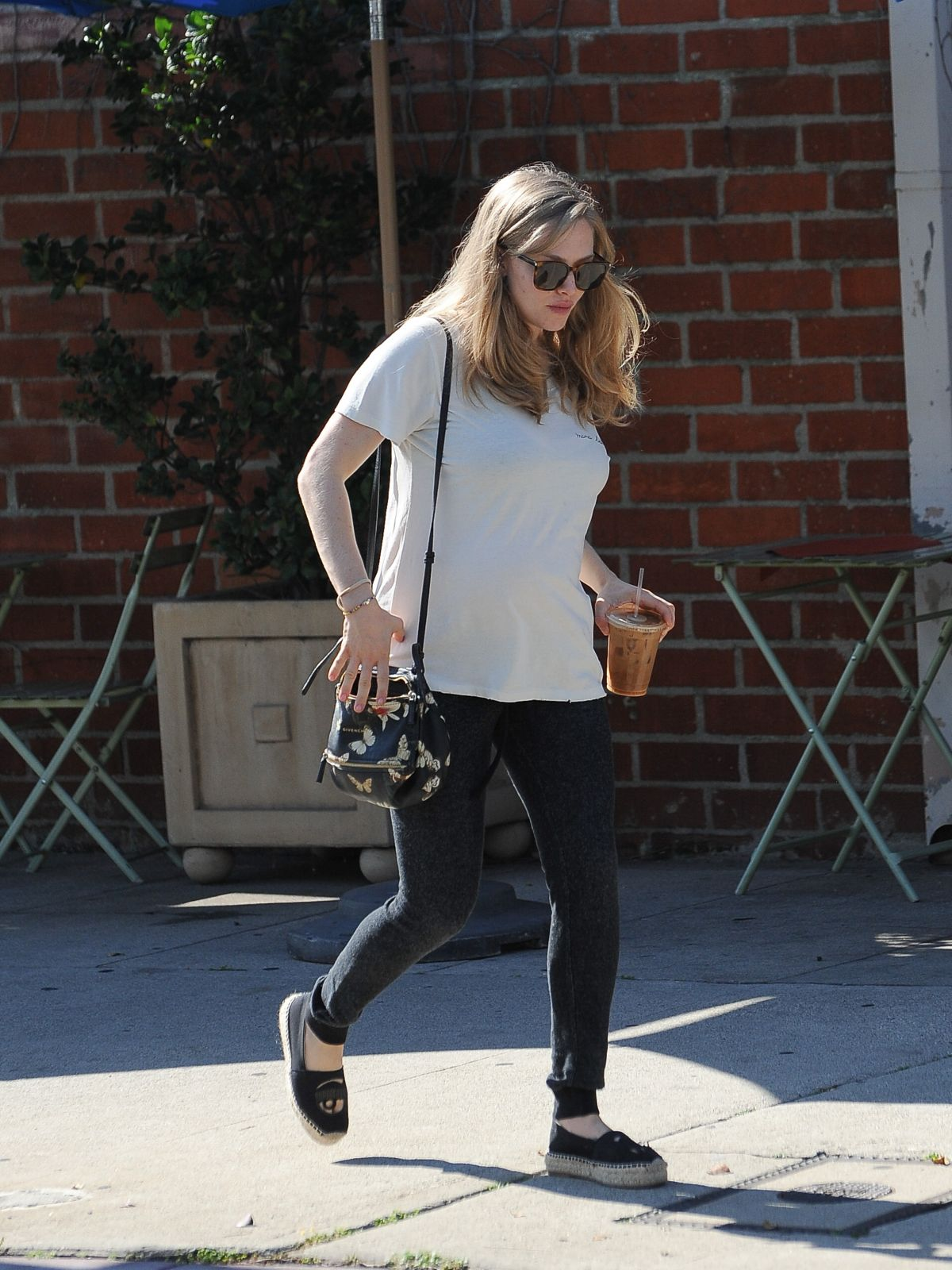 AMANDA SEYFRIED Out in Los Angeles 02/09/2017
