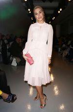 AMBER LE BON at Bora Aksu Fashion Show in London 02/17/2017