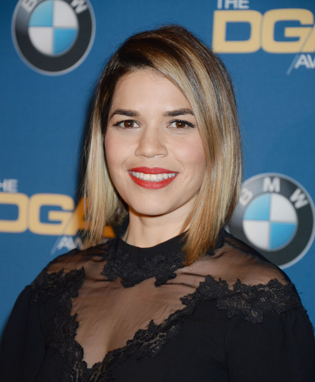 AMERICA FERRERA at 69th Annual Directors Guild of America Awards in Beverly Hills 02/04/2017
