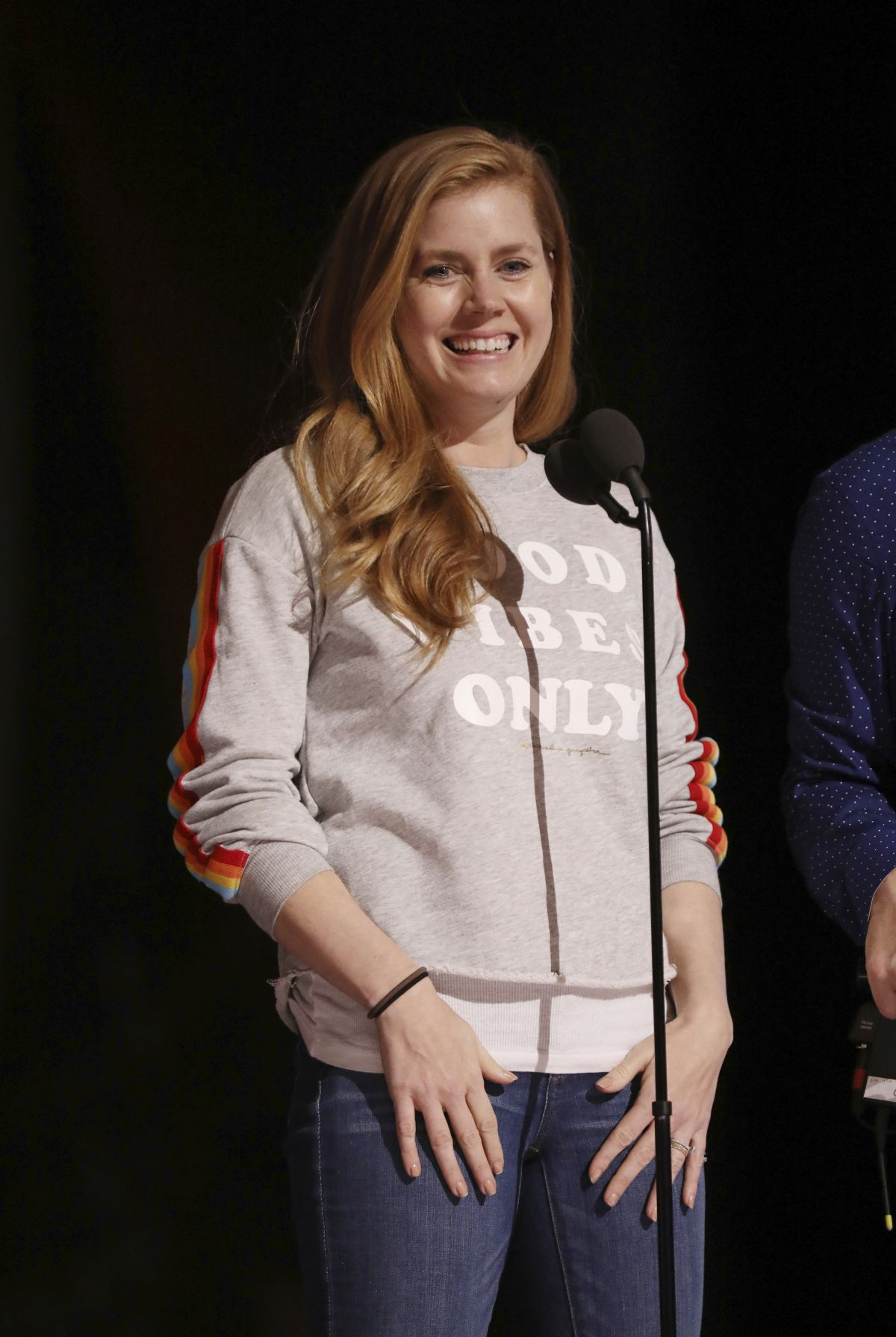 AMY ADAMS at Rhearsals... Amy Adams