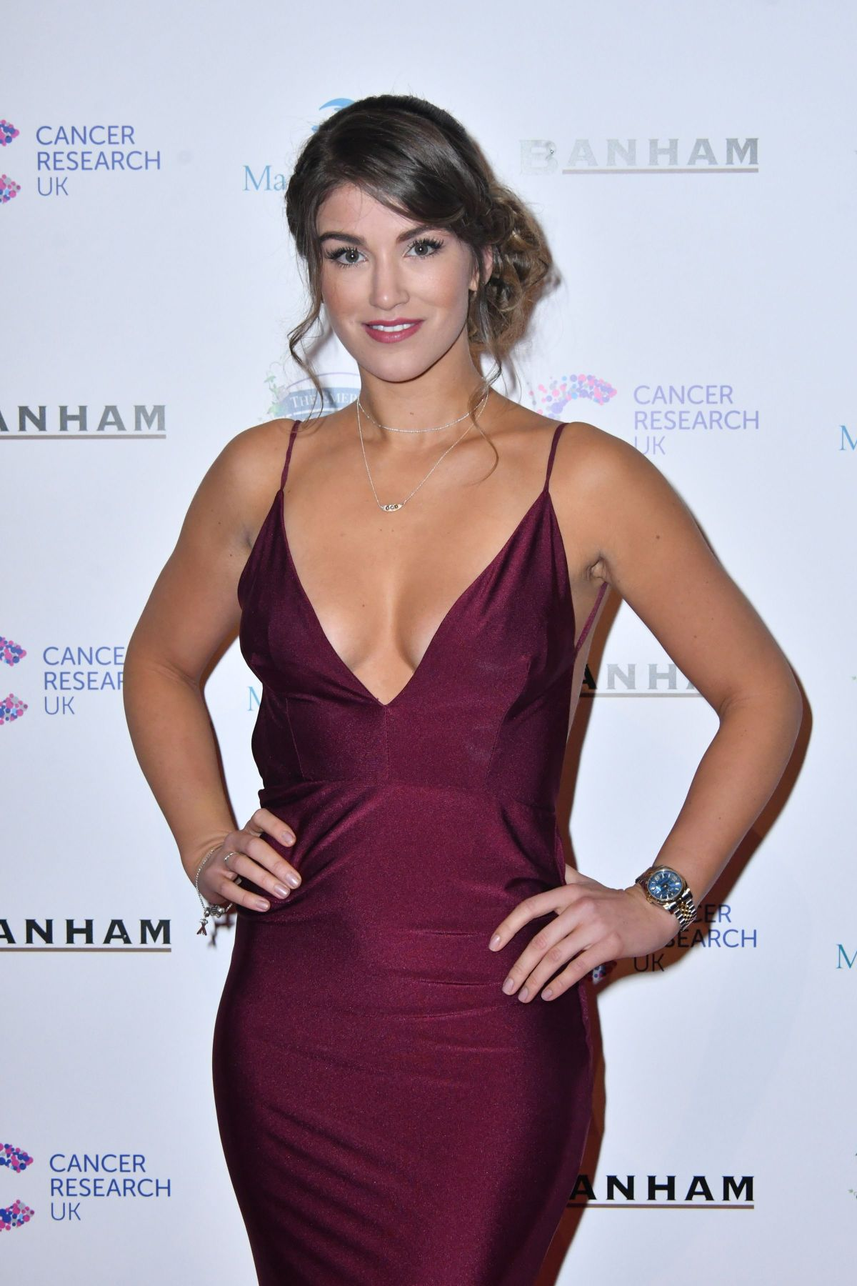 AMY WILLERTON at Emeralds and Ivy Ball in London 02/25/2017