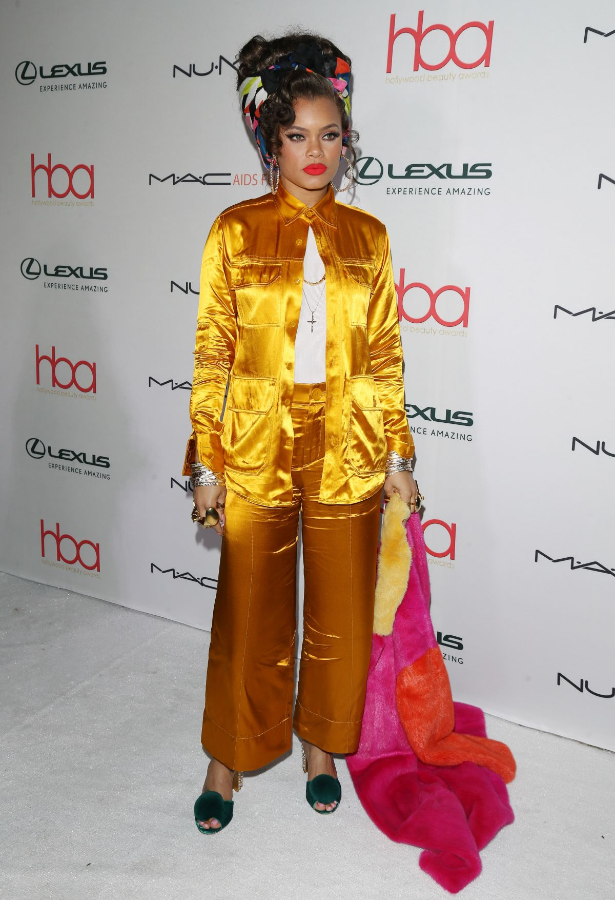ANDRA DAY at 3rd Annual Hollywood Beauty Awards in Los Angeles 02/19/2017