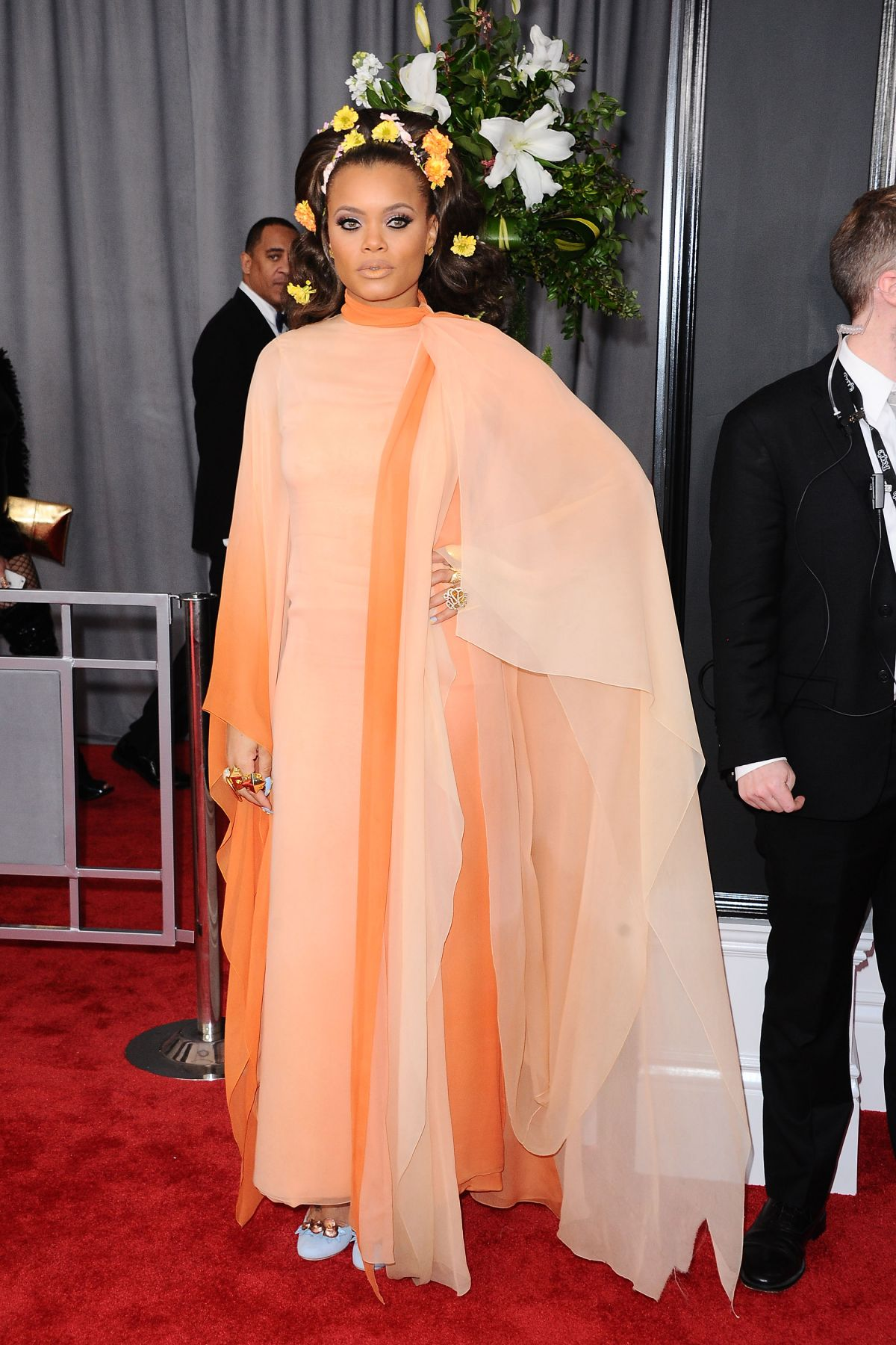 ANDRA DAY at 59th Annual Grammy Awards in Los Angeles 02/12/2017