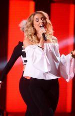 ANETA SABLIK Performs at Polish 2017 Eurovision Pre-selection in Warsaw 02/18/2017