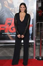 ANGELIQUE CABRAL at 'Ffist Fight' Premiere in Westwood 02/13/2017