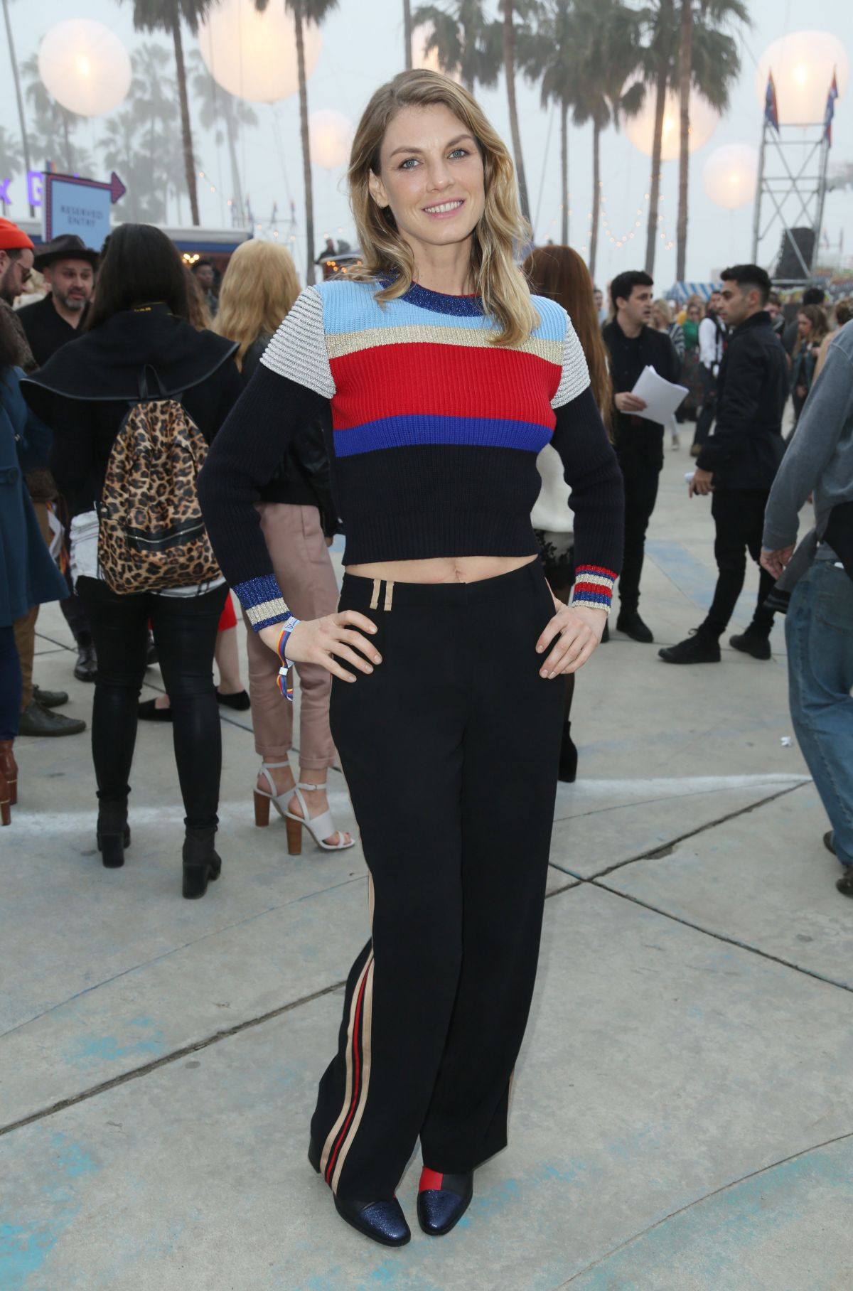 ANGLEA LINDVALL at Tommyland Tommy Hilfiger Spring 2017 Fashion Show in Venice 02/08/2017