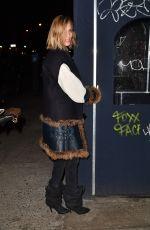 ANJA RUBIK at Fat Radish in New York 02/02/2017